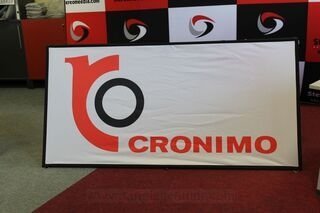 Cronimo two-sided soft banner 2x1m