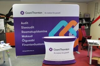 Promotional wall Grant Thorton