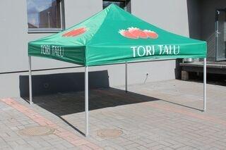 Tori Talu logoga reklaamtelk