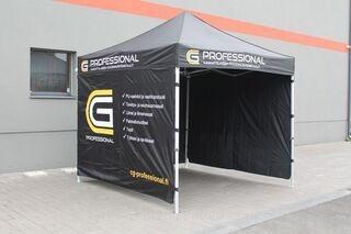 CG Professional logoga 3x3m popup telk